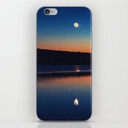 Mirrored Moonlight iPhone Skin