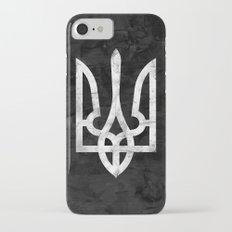 Ukraine Black Grunge Slim Case iPhone 7