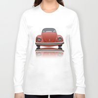vw Long Sleeve T-shirts featuring VW Beetle by Nove Studio