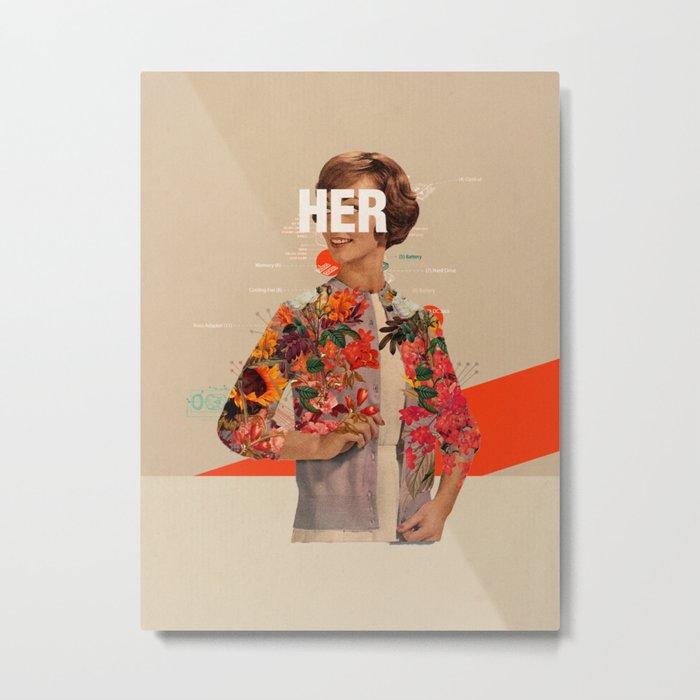 Her Metal Print