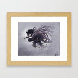 Vin in the Mists Framed Art Print