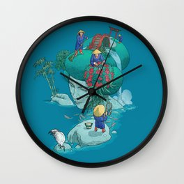 Landscaping Wall Clock