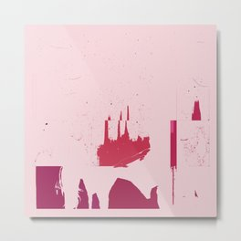 Pink coke. Metal Print