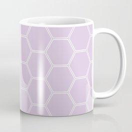Honeycomb - Light Purple #288 Coffee Mug