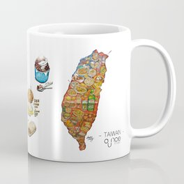 TAIWAN FOOD MAP Coffee Mug