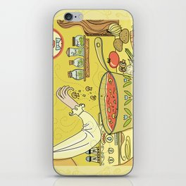 Time For Soup iPhone Skin