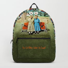 Two Cool Kitties: What's for Lunch? Backpack
