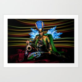 I Come With Glad Tidings, of A World Made Free Art Print