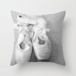 En Pointe Throw Pillow