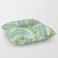 Palm leaves VI Floor Pillow