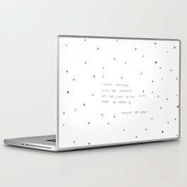 sight of the stars makes me dream Laptop & iPad Skin