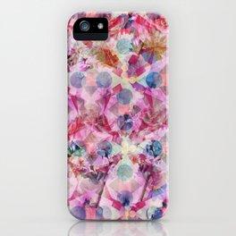 Pink Florals iPhone Case