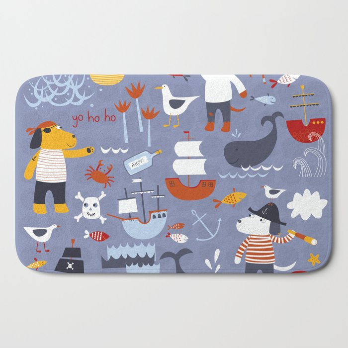 Pirates! Bath Mat