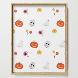 Trick or Treat Happy Halloween Everyone Serving Tray
