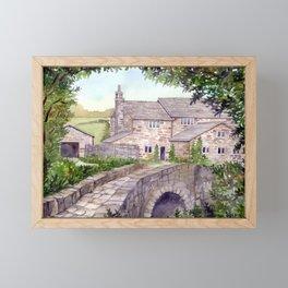 Stone Bridge Framed Mini Art Print