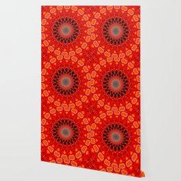 RED CIRCLE Wallpaper