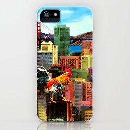 San Francisco City Chicken iPhone Case