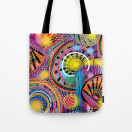 Biology of Lovers on a Rainy Night (Horizontal) Tote Bag