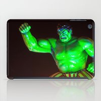 hulk iPad Cases featuring Hulk by Roser Arques