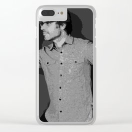 Jemaine Clement 6 Clear iPhone Case