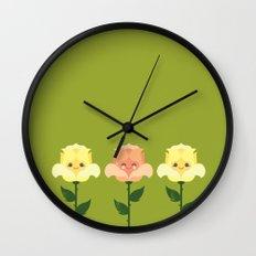 Kawaii Rose Friends  Wall Clock