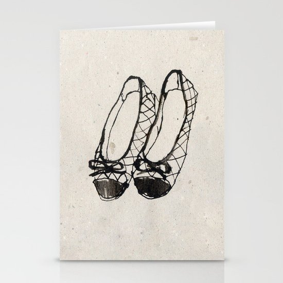 Ballerinas Stationery Cards