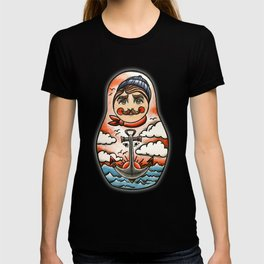 Sailor and his lady (russian dolls) T-shirt