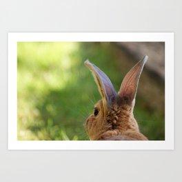 Bunny Ears Art Print
