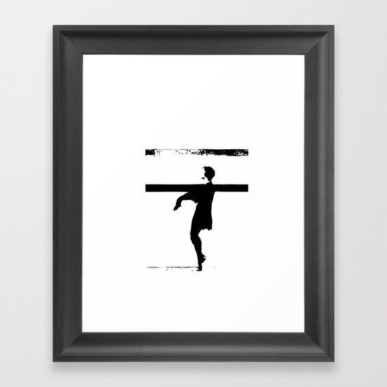 hoctor by steichen  Framed Art Print