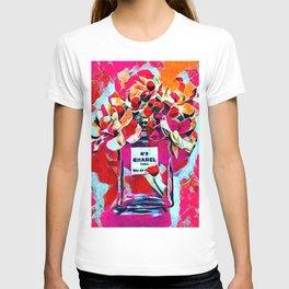 No 5 Pink Colored T-shirt