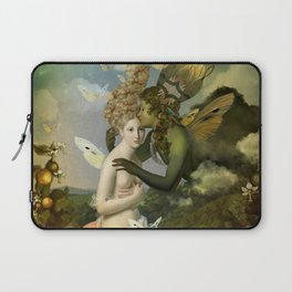 """""""The body, the soul and the garden of love"""" Laptop Sleeve"""