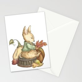 Vintage rabbit Stationery Cards