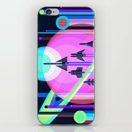The Grand Tour : Vintage Space Poster Cool iPhone Skin