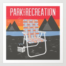 Park & Recreation Art Print