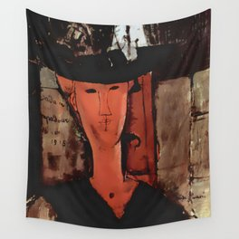 "Amedeo Modigliani ""Madame Pompadour"" Wall Tapestry"