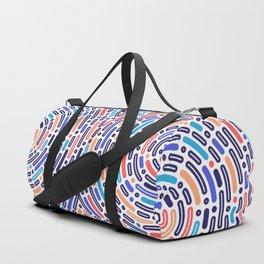 circular pattern Duffle Bag