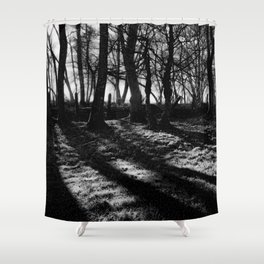 If You Go Down to the Woods Today... Shower Curtain