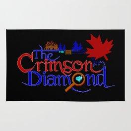 The Crimson Diamond colour logo Rug