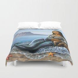 Monalisa Mermaid Duvet Cover