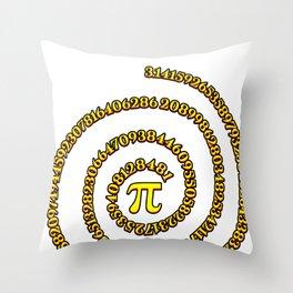 Student Pi Sign Number College Math Teacher Gift Throw Pillow