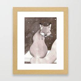 Myobu Kitsune Framed Art Print