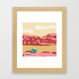 A new kind of land Framed Art Print
