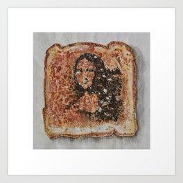 Burnt Sienna vs. Burnt Toast Art Print