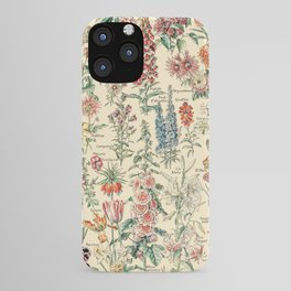 Vintage Floral Drawings // Fleurs by Adolphe Millot XL 19th Century Science Textbook Artwork iPhone Case