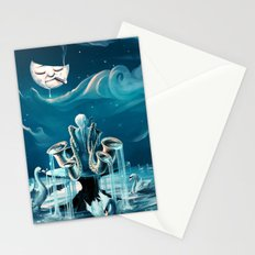 Everlasting Blues Stationery Cards