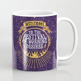 Daughter of the Burning City - Amanda Foody - Purple Coffee Mug