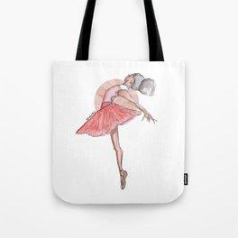 Ingrid Ballerina Tote Bag