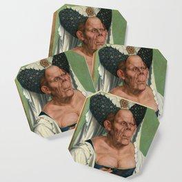 A Grotesque old woman by Quentin Matsys 1513 Coaster