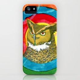 Fantasy owl iPhone Case