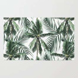 South Pacific palms Rug